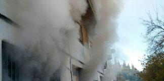Incendio en Ubrique