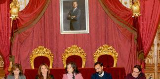 La reunión tuvo como escenario el Salón Regio de la Diputación de Cádiz. Foto: Nacho Frade