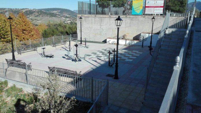 Parque Biosaludable en Prado del Rey