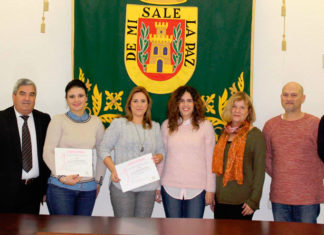 Las olvereñas Ana María Casanueva y Ana Belén Párraga reciben los premios de la XIII edición del concurso Autoempleo en Femenino