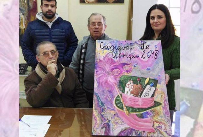 Presentación del cartel del Carnaval de Ubrique 2018. Foto: ubriquesevillista.es