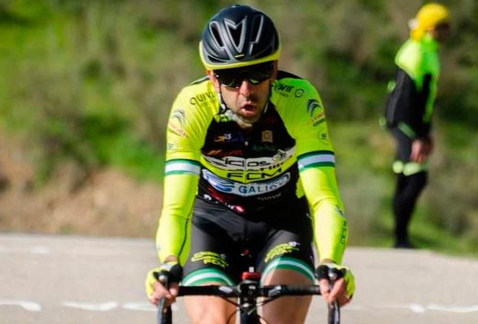 El ciclista ubriqueño, Rafa Rincón