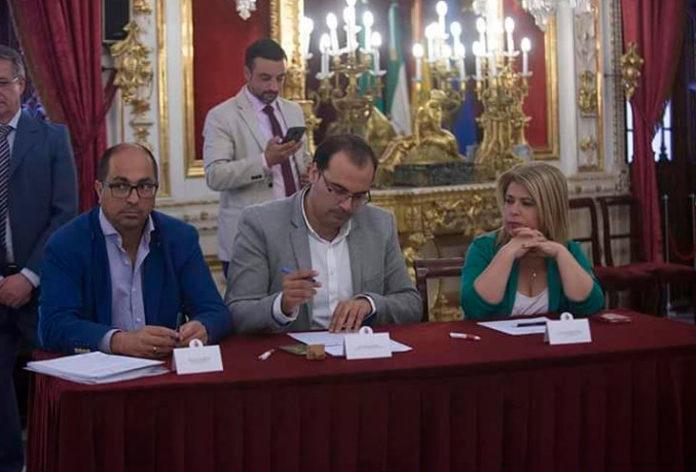 Firma del convenio Vía Verde