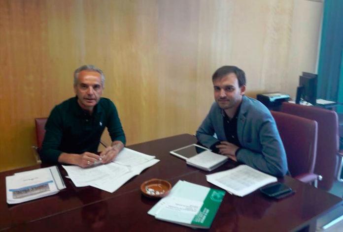 Alfonso Moreno y Daniel Moscoso