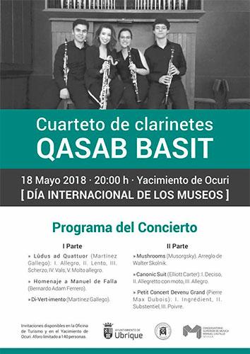 Cuarteto de clarinetes Qasab Basit