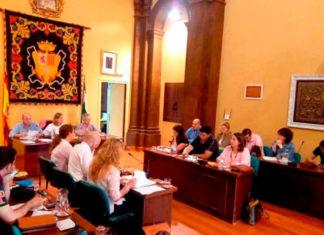 pleno municipal del Ayuntamiento de Ubrique