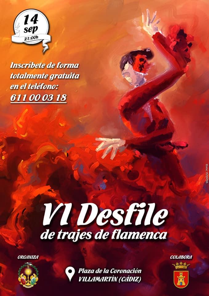 VI Desfile de Trajes de Flamenca