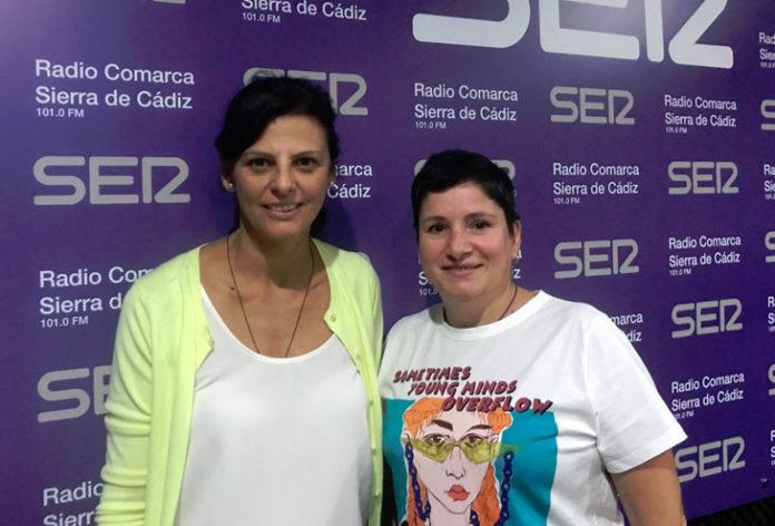 Paola Morales y Encarnación Rodríguez